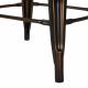 Glitzhome Antique Metal Counter Bar Stools Bronze (Set of 2)