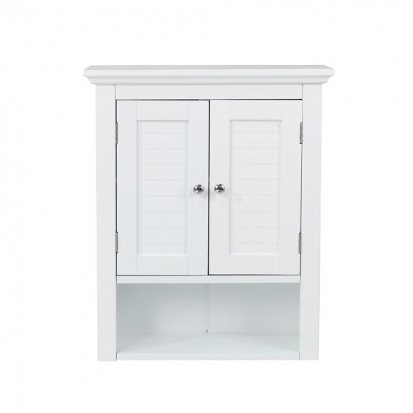 "Glitzhome 24""H Wooden Bathroom Wall Mounted Storage Cabinet"