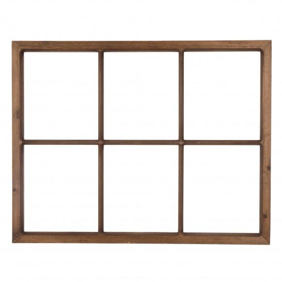 "Glitzhome 28''L*22""H Wooden Window Frame"