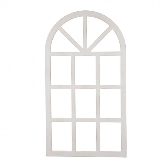 "Glitzhome 36""H*20""L Wooden Window Frame"