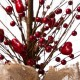 "Glitzhome 18""H Valentine's Berry Heart Table Tree"