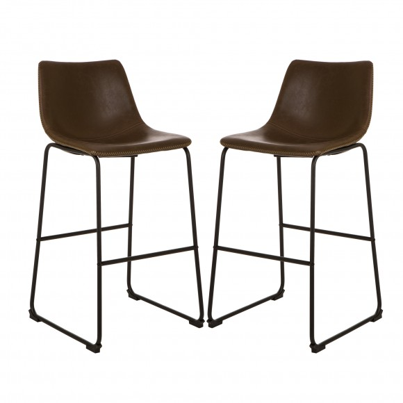 OFFICIAL] Glitzhome Retro Chrome Dining Kitchen Chairs ...