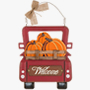 Glitzhome Wooden/Iron Pumpkins Truck Wall Decor